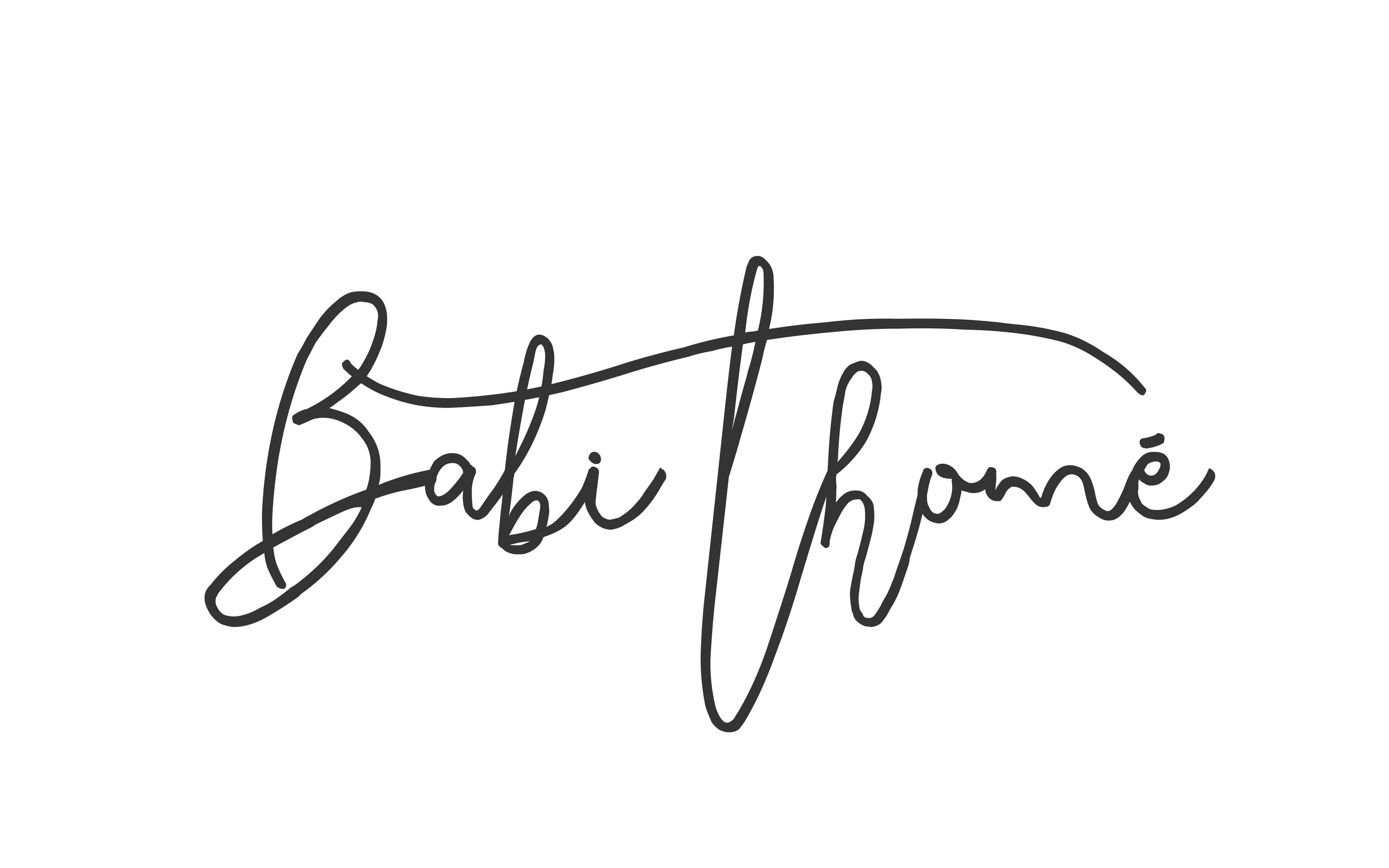 Babi Thomé – Blog