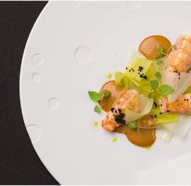Restaurant Baumanière 1850 – 1*Michelin + 2 Toques Gault & Millau – Courchevel