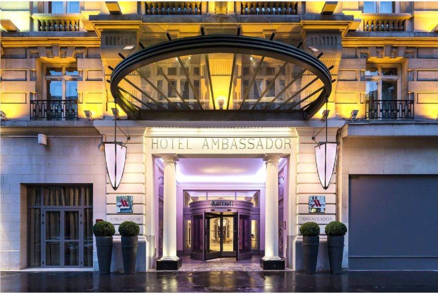 Hotel Paris Marriott Opera Ambassador